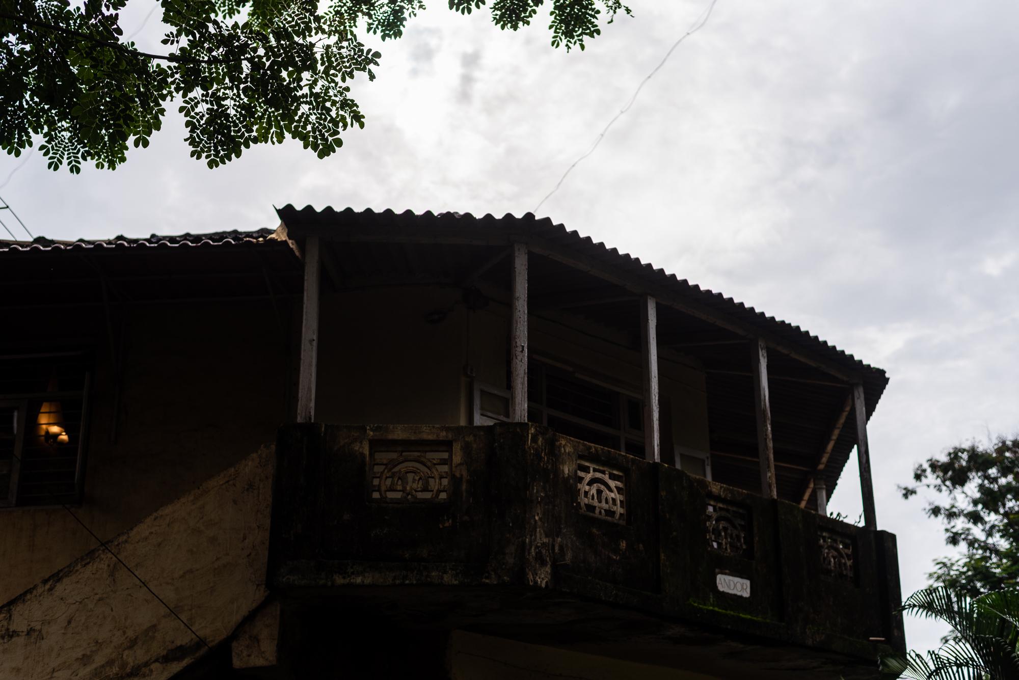 A dark home