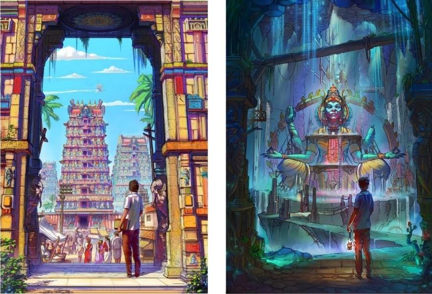 Antariksha-sanchar-posters
