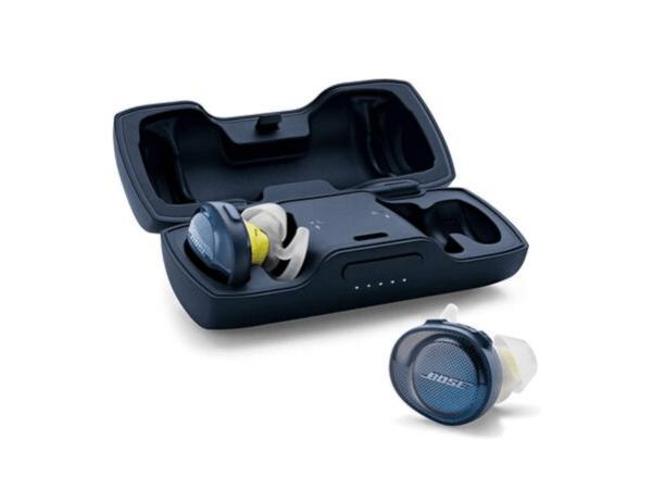 Bose Sound Sport Free Truly Wireless Sport Headphones (Midnight Blue:Citron)