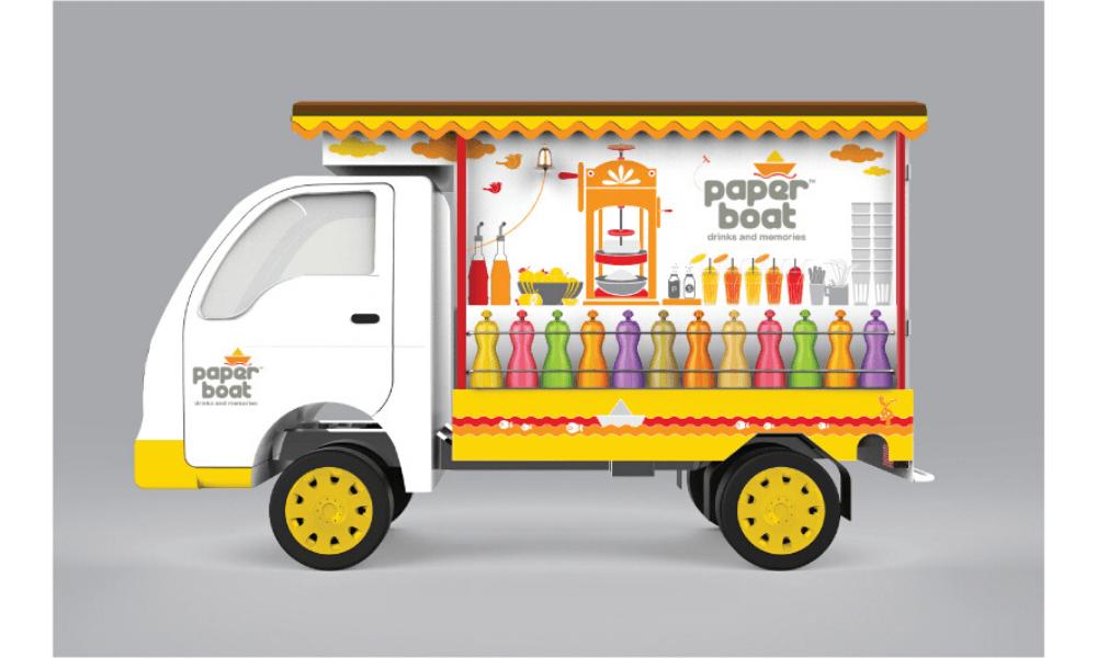 Paper-Boat-truck