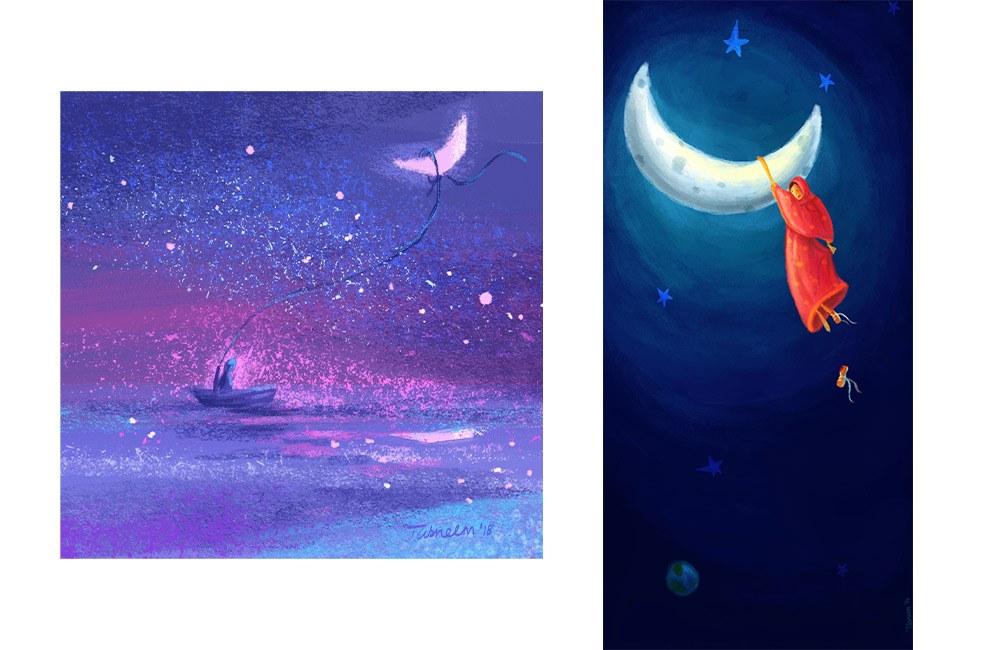 boat-moon-hanging-tasneem-amiruddin