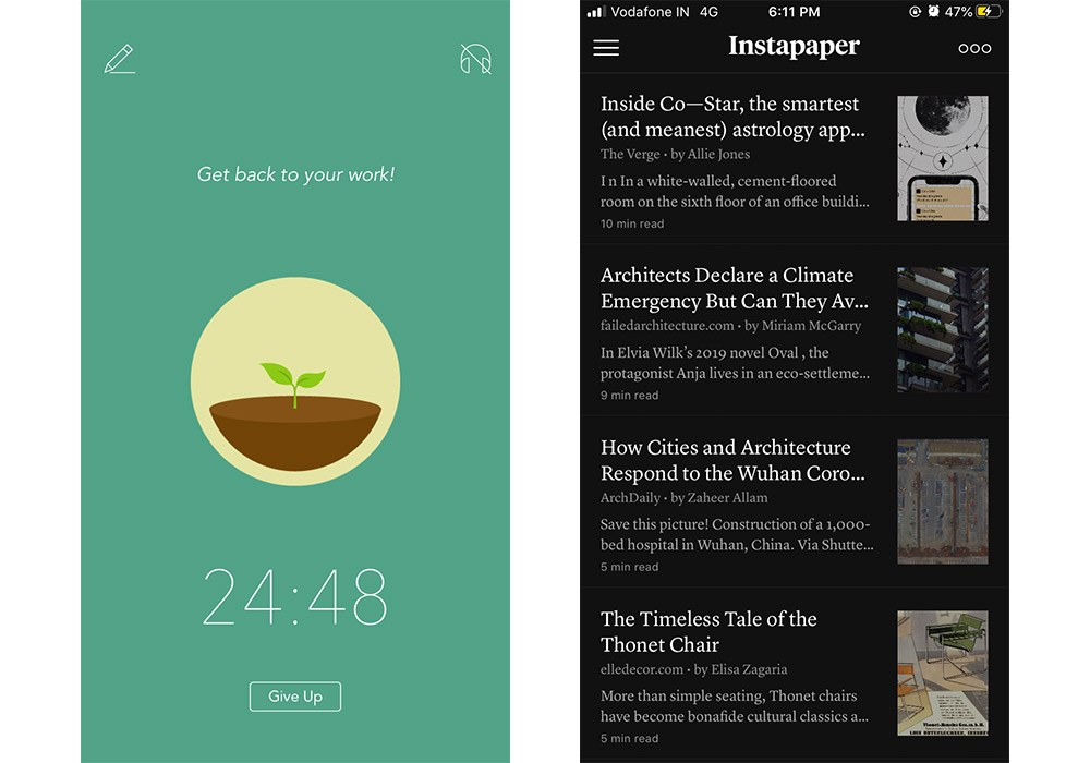 work-from-home-apps-forest-instapaper